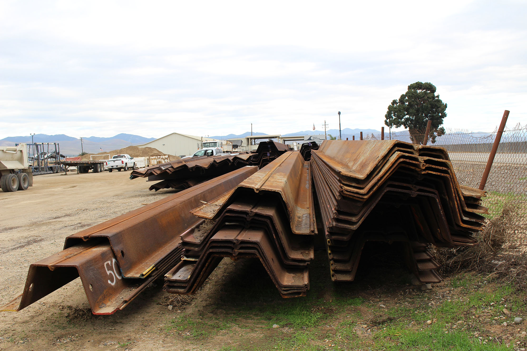 PZ40 hotrolled sheet piles Santa Maria (Used) | Steel West USA, Inc